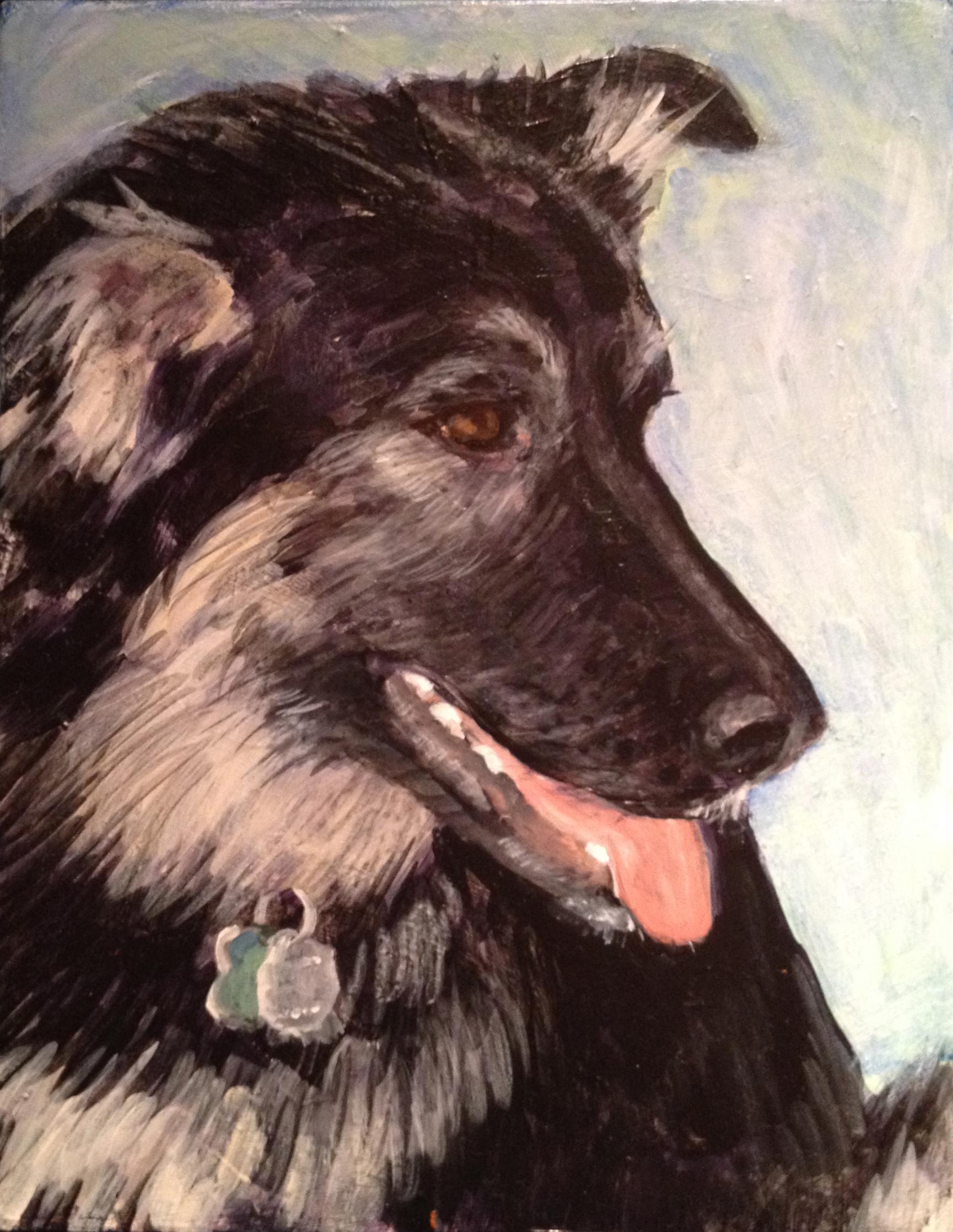 Lucy portrait